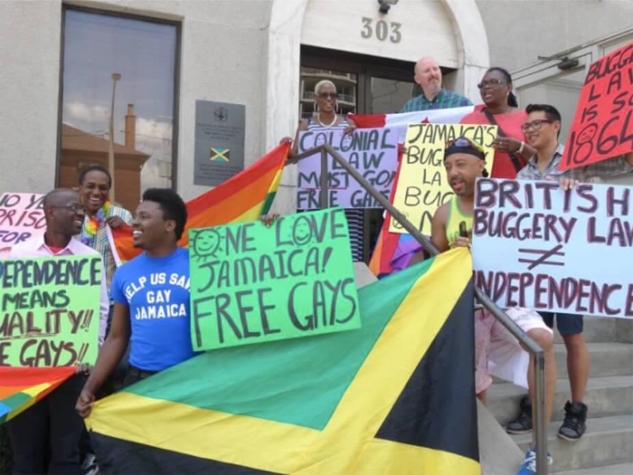 מצעד הגאווה הראשון בג'מייקה   2015   מתוך פייסבוק