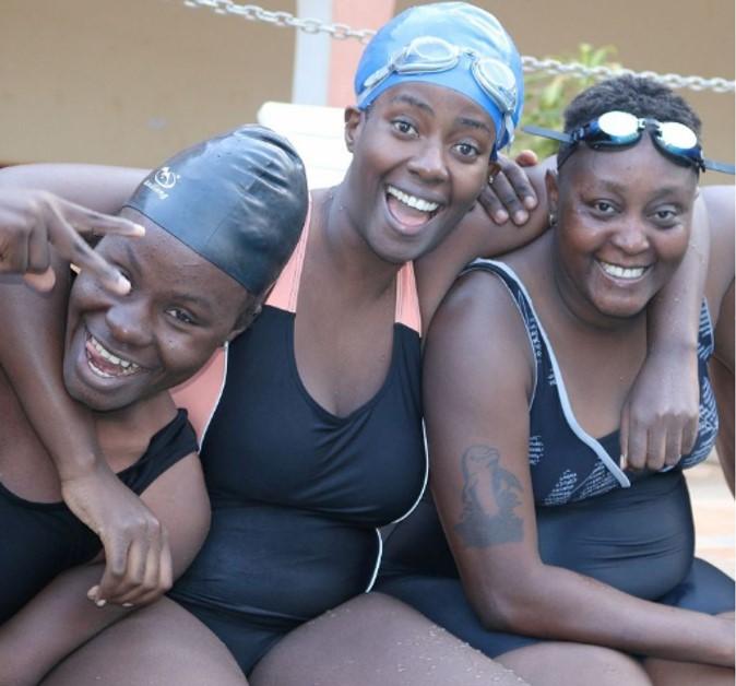 שחייניות אוגנדה