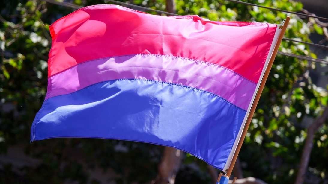 Bisexual flag   CC BY 2.0 Peter Salanki