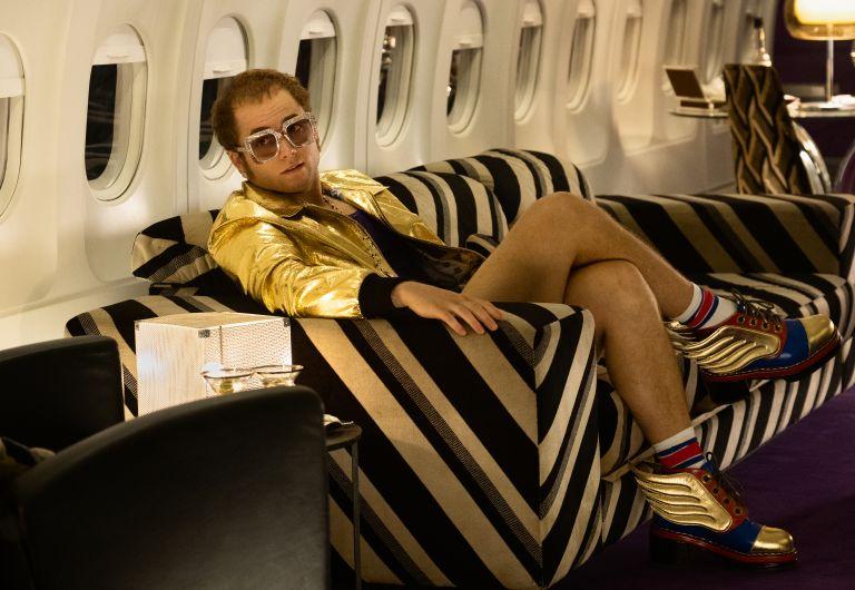 Taron Egerton in Rocketman from Paramount Pictures.