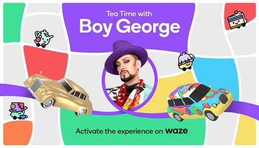 tea time boy george credit Waze