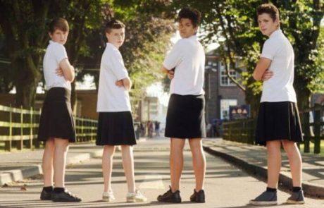 בבריטניה אפשר לבחור – מכנסיים או חצאית לבית הספר