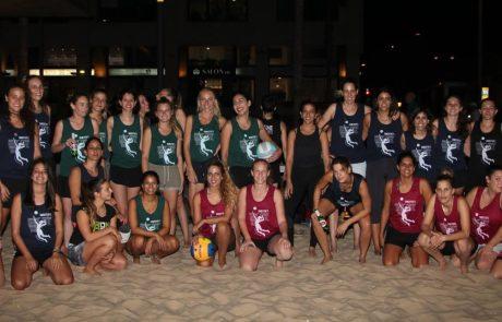 חוזרות לחוף – טורניר כדורעף החופים של SHE SPORTS