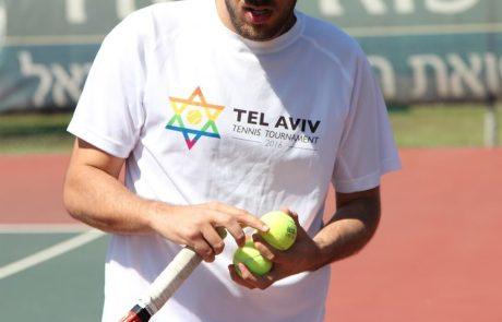 לראשונה בישראל – טורניר טניס בינלאומי גאה