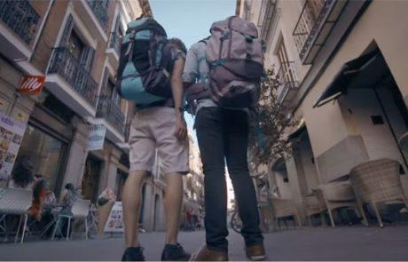 """צפו: כיצד מגיבים תושבי מדריד ללהט""""בפוביה נגד תיירים?"""