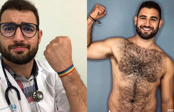 הרופא שהחלים מקורונה ונבחר ל-Mr Gay World