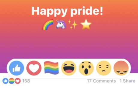 כיצד החליטה פייסבוק באילו מדינות יופיע אמוטיקון הגאווה?