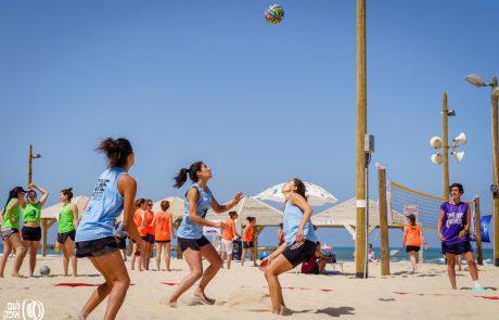 She Sports מציגה – מתחם כדורעף פתוח לכל הרמות
