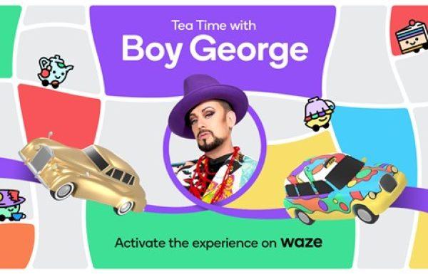 Waze מציגה – ניווט בקולו של בוי ג'ורג'