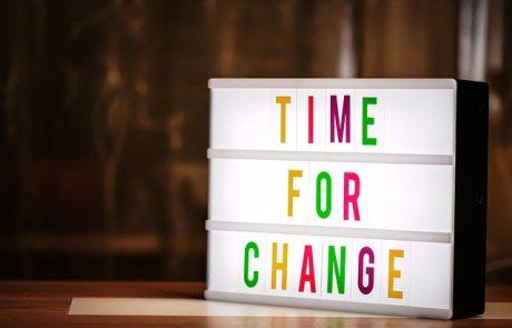 """""""אז מה נשתנה? הכול משתנה, כל הזמן"""""""
