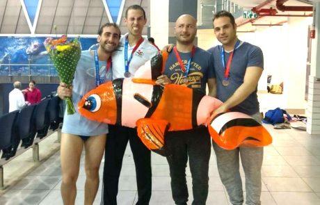 """19 מדליות לקבוצת השחייה של מועדון ספורט גאה ת""""א באליפות ישראל בשחייה"""